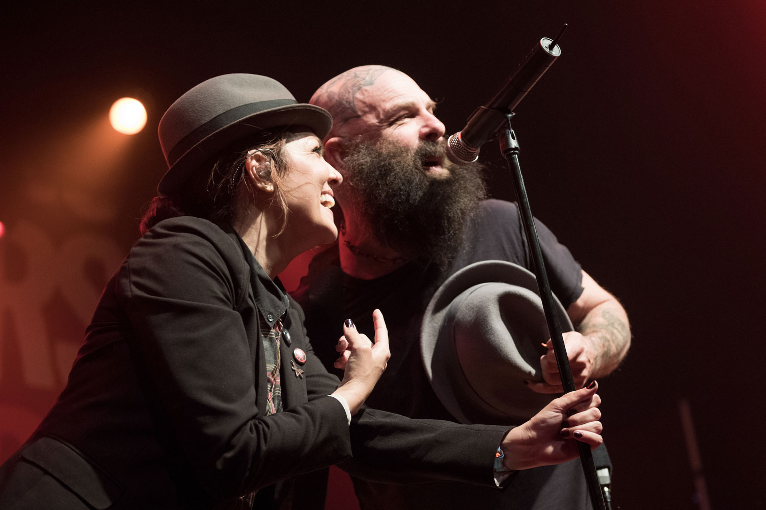 Tim Armstrong Joins The Interrupters Onstage At Coachella