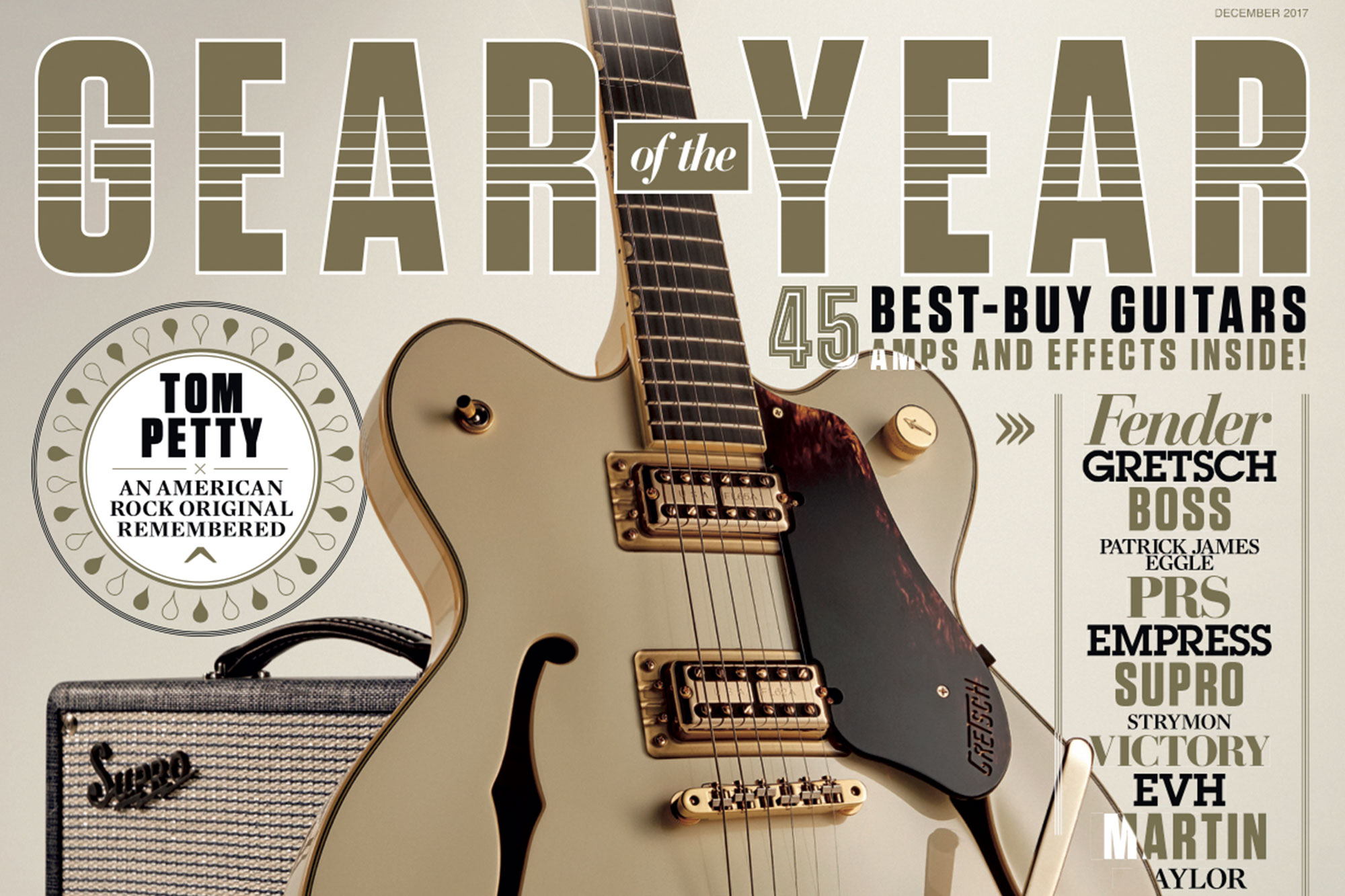 Gretsch G6609 Players Edition Broadkaster Wins Guitarist Gear of the Year Award