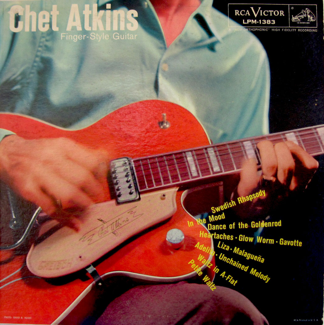 Five Great Gretsch Chet Atkins Album Covers - Gretsch